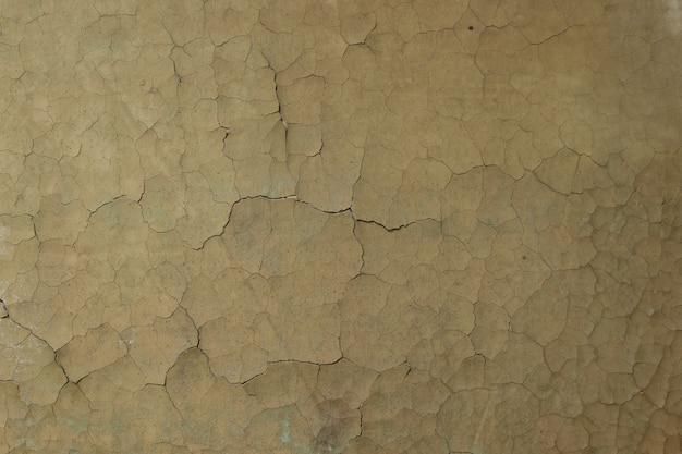 珍しい壁ペイントテクスチャをクラックします。