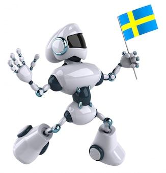 Робот анимация