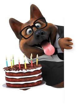Веселая собачья анимация
