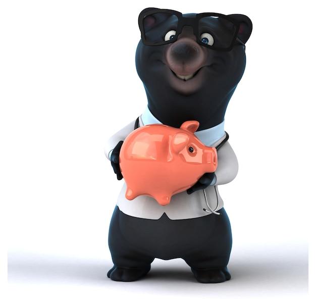Веселый медведь