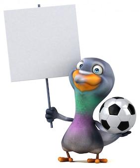 Веселая голубиная анимация