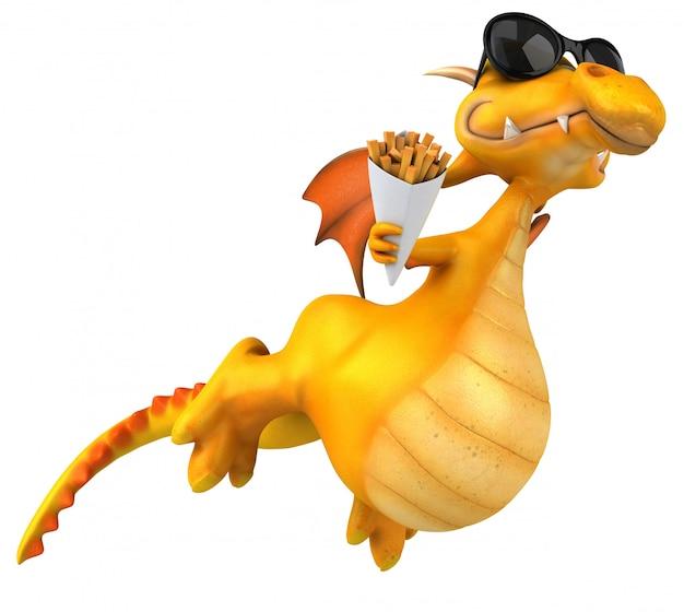 Веселый дракон