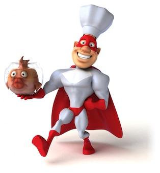 Веселая анимация супергероев