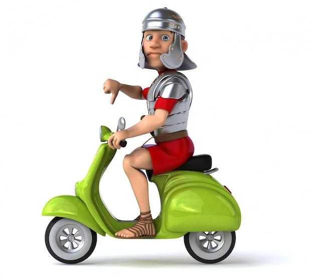 楽しいローマの兵士