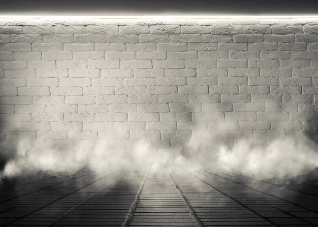 空のレンガの壁の背景