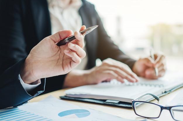 ビジネスプランニングミーティングプランニング戦略分析コンセプトプラン