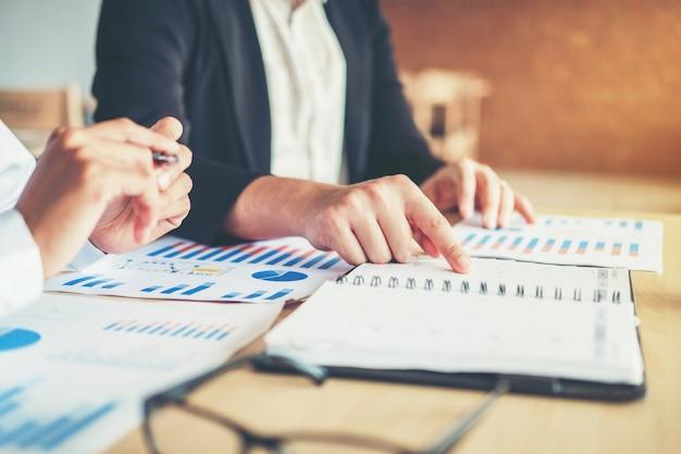 ビジネスプランニング戦略分析コンセプト会議