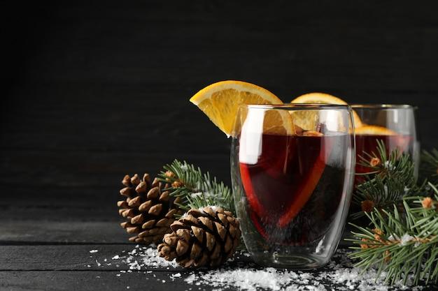 オレンジを練り込んだ美味しいグラス