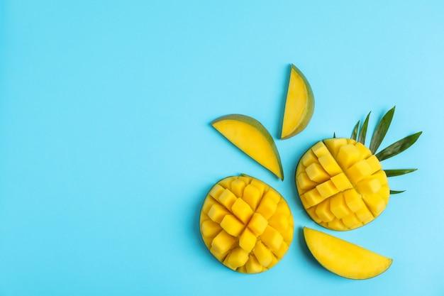 Плоская композиция для нарезки манго