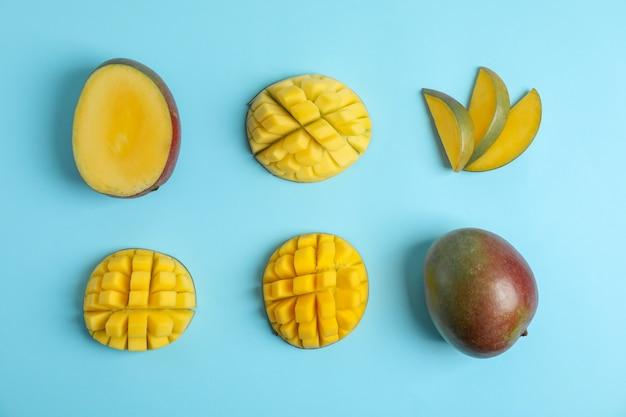 Плоская композиция для спелых манго