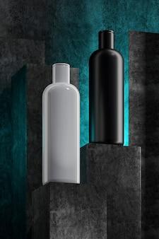 ボトル入り保湿剤付き製品表彰台