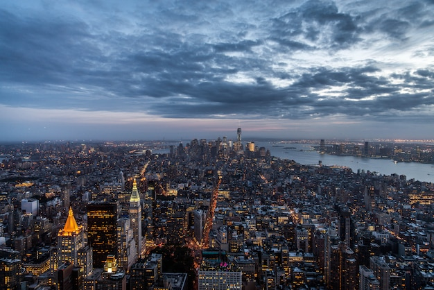 マンハッタンのスカイライン