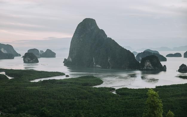 南タイのパンガー湾