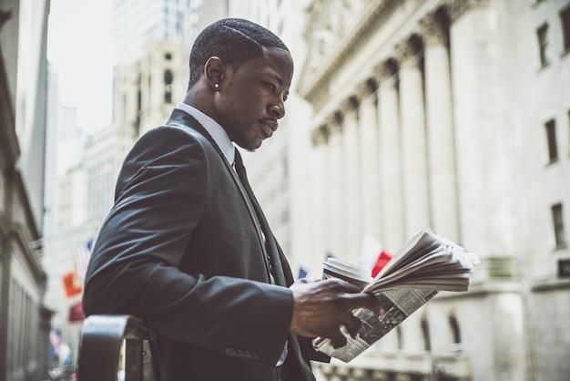 ビジネスの男性の肖像画