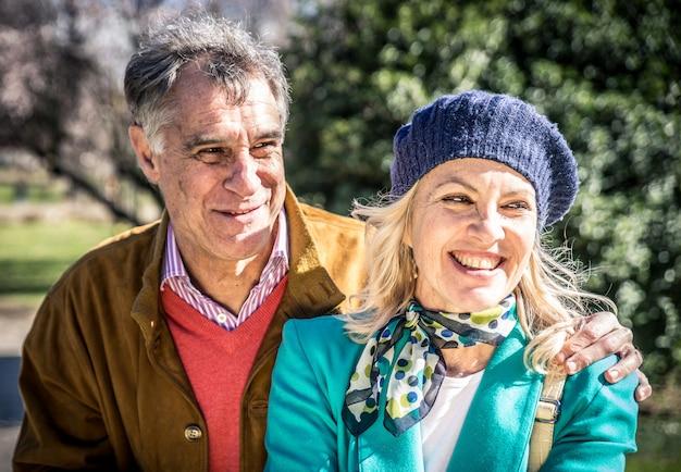 Старшая счастливая пара