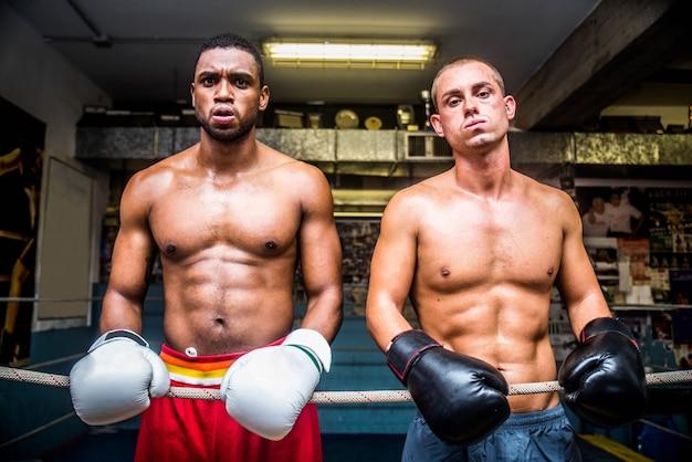 ボクシングの試合