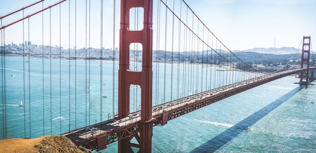 ゴールデンゲートブリッジ、サンフランシスコ