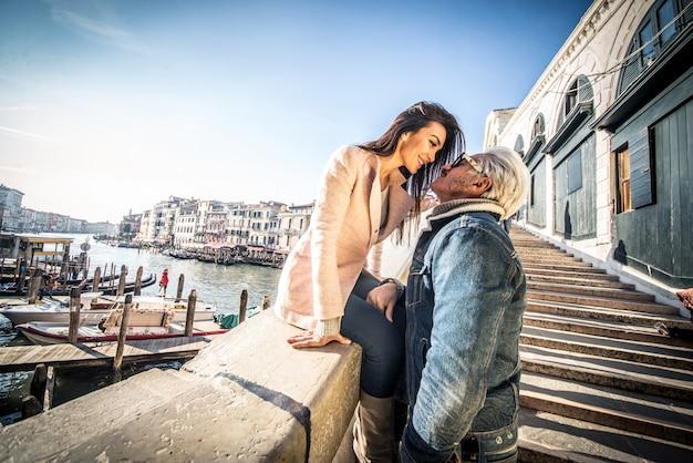 ヴェネツィアのカップル