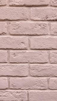 茶色のレンガの壁