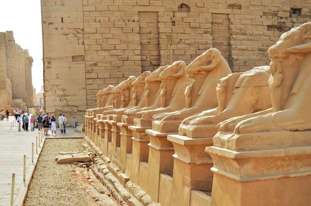 カルナック寺院、ルクソール、エジプト