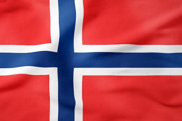 ノルウェーの国旗 - 長方形の愛国心が強い記号