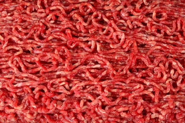 Сырое рубленое мясо