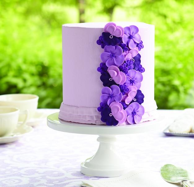 パープルケーキ