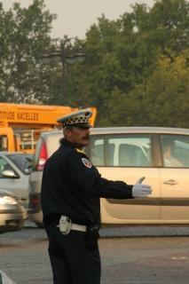 パリ交通警官