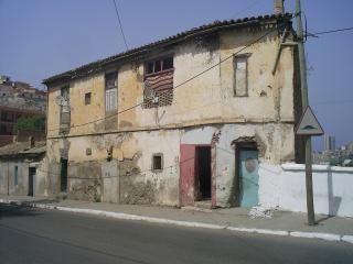 アルジェリアの古い家