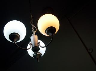 アールヌーボー様式の期間照明