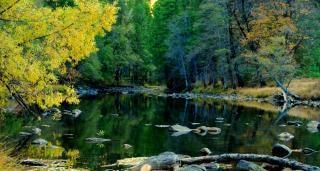 ヨセミテ国立公園、秋