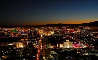 Лас-вегас городской пейзаж