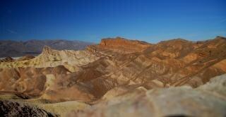 死の谷、風景