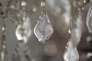 Люстра цыганские, кристаллы