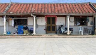 古い中国の農家