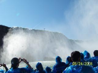 ナイアガラの美しさは、現在、クールな滝