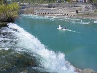ナイアガラの美しさ、美しさを下回る温泉