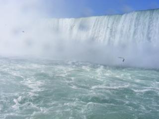 ナイアガラの美しさが素晴らしい滝