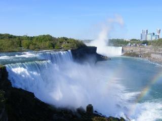 Красота ниагарский водопад, камень, декорации