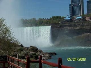 ナイアガラの美しさが流れて、現在の滝