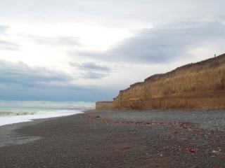 Кингсдаун море откос - кентербери новой зеландии