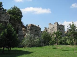 コンスタンティノープルの古代の壁
