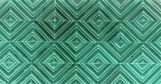 緑のタイル