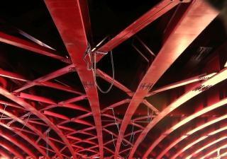 大規模な桁橋