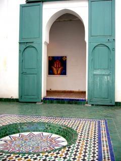 モロッコの建物