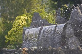 Экзотические водопад