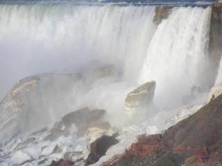 Канада - ниагарский водопад - весной