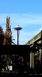 シアトルのスペースニードルは、有名な