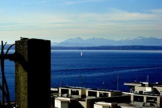 シアトル、ウェストコースト、風光明媚な