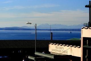 シアトル、ウェストコースト、山